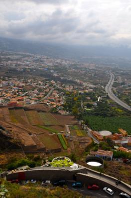 Route through Valle de La Orotava