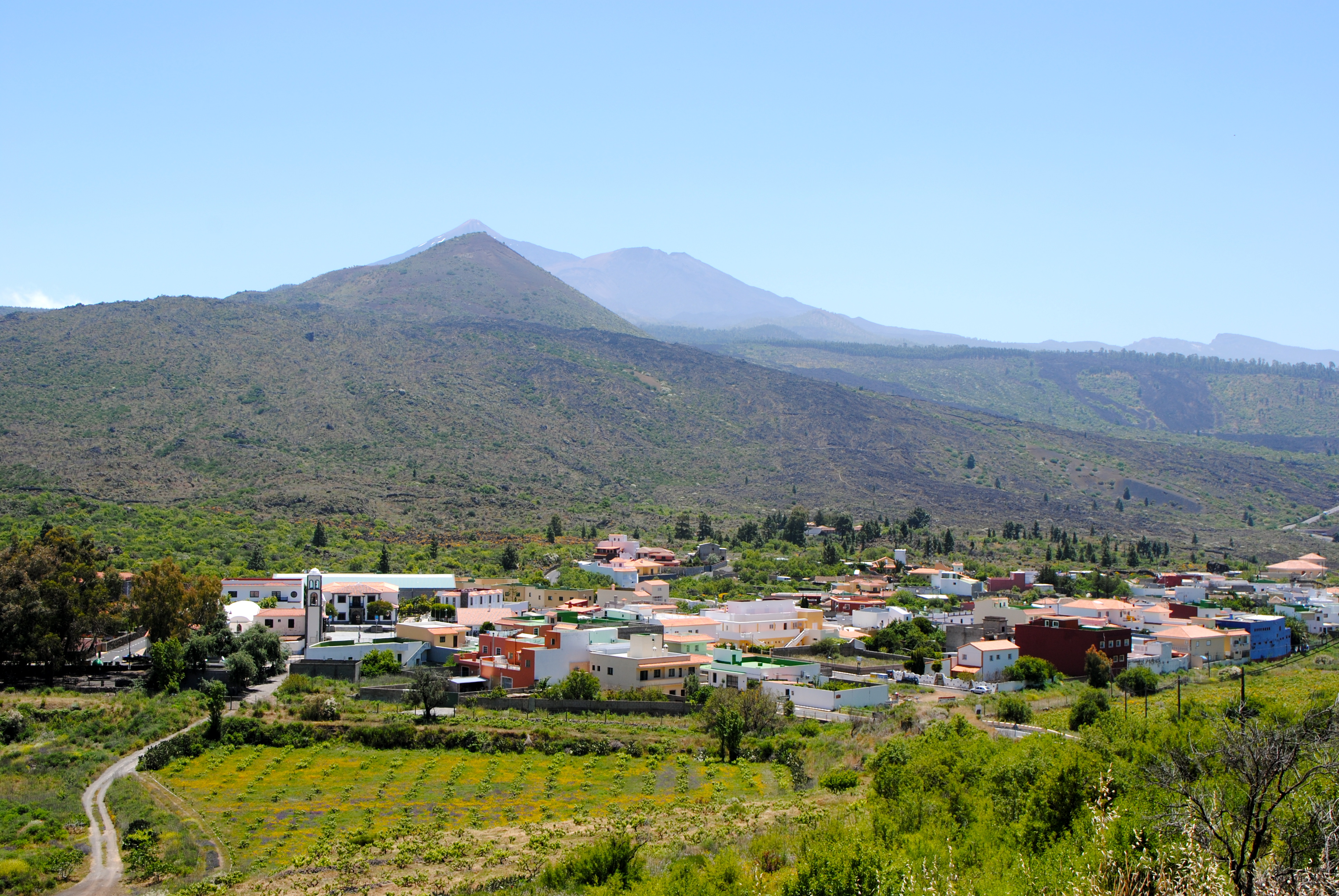 Route from Santiago del Teide to Masca