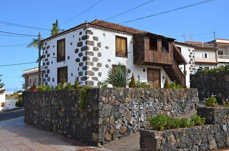 Route La Matanza, La Victoria und Santa Úrsula