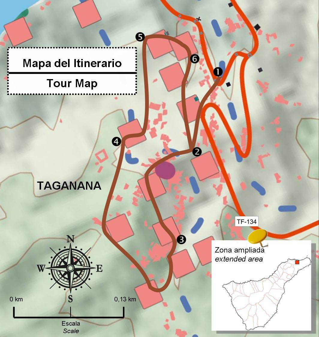 Circuito W Mapa : Rutas rurales por tenerife. busca tu ruta rural en tenerife y